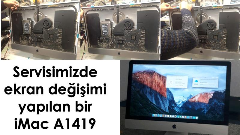 iMac A1419 Ekran değişimi