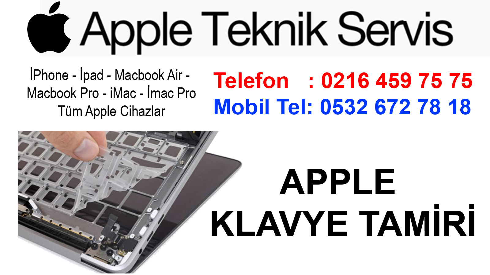 Maltepe Apple Klavye Tamiri