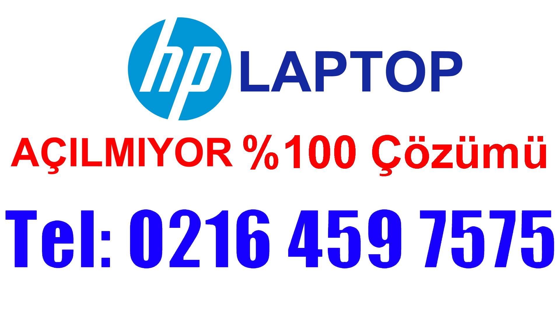HP Laptop Açılmıyor