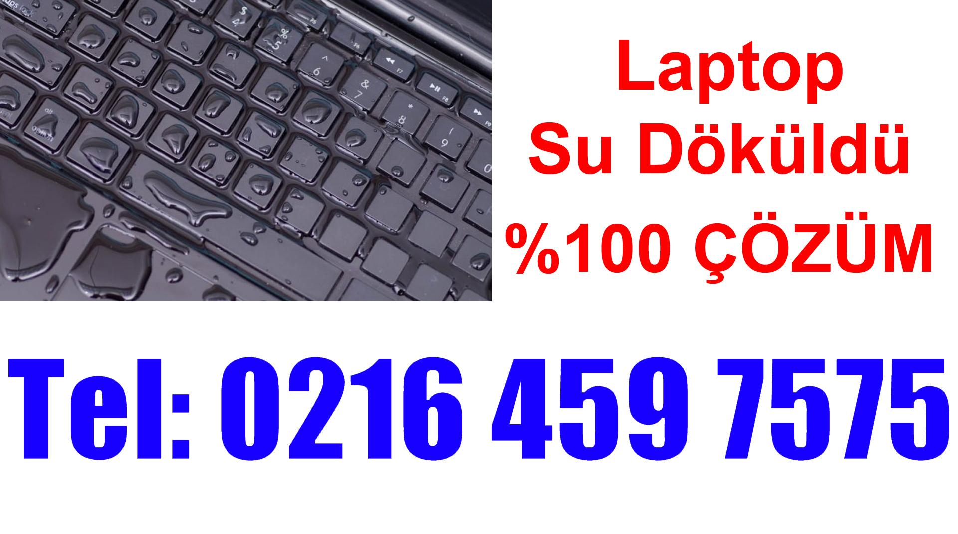 Laptop Klavyeye Su Döküldü Tuşlar Karıştı
