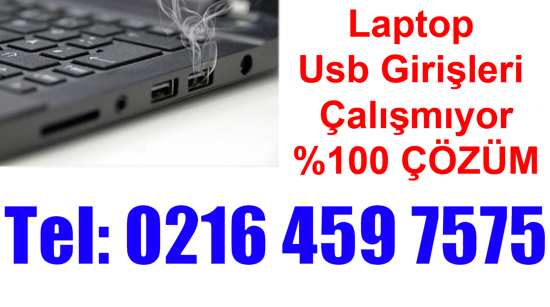 Laptop USB Portları Çalışmıyor