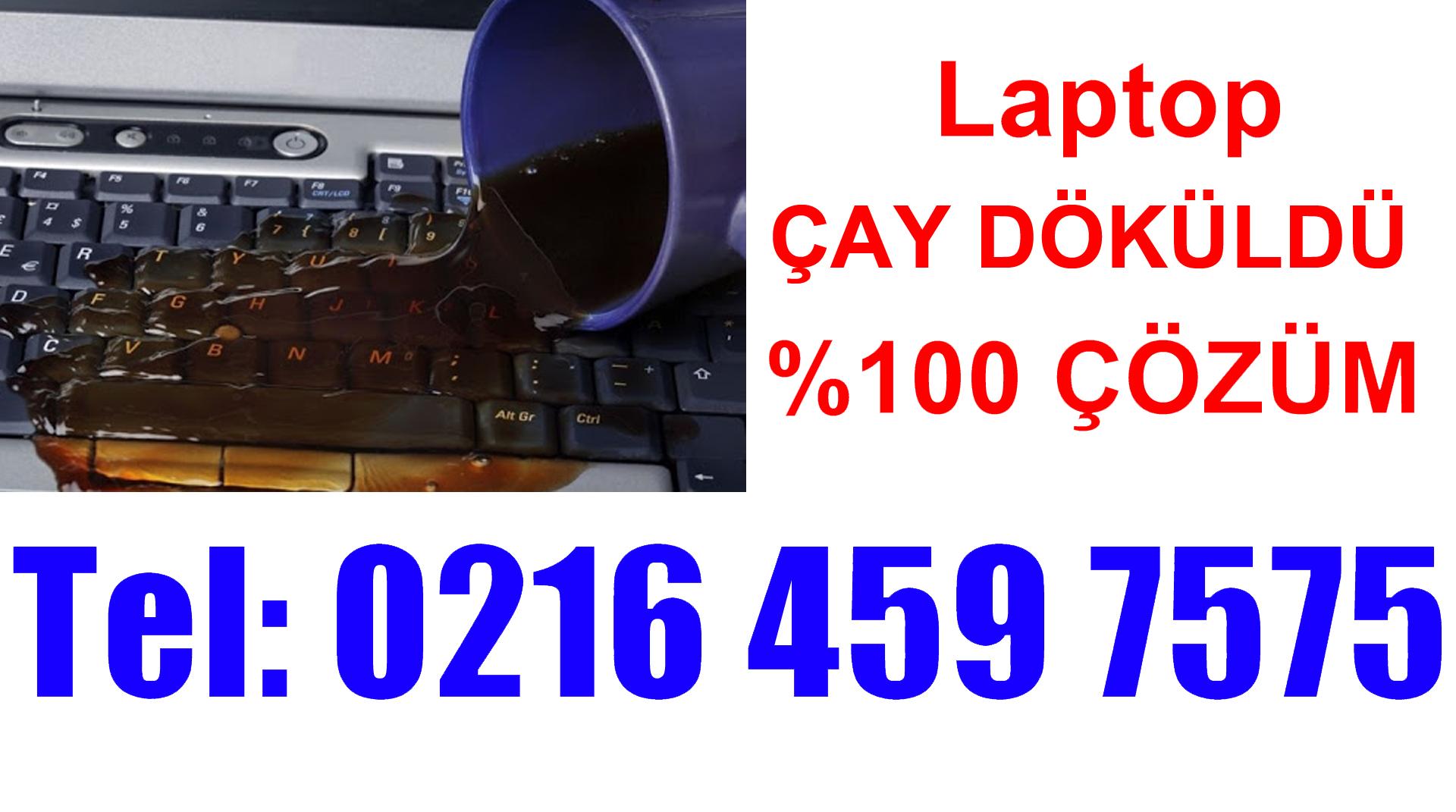 Laptopa Çay Döküldü Kapandı