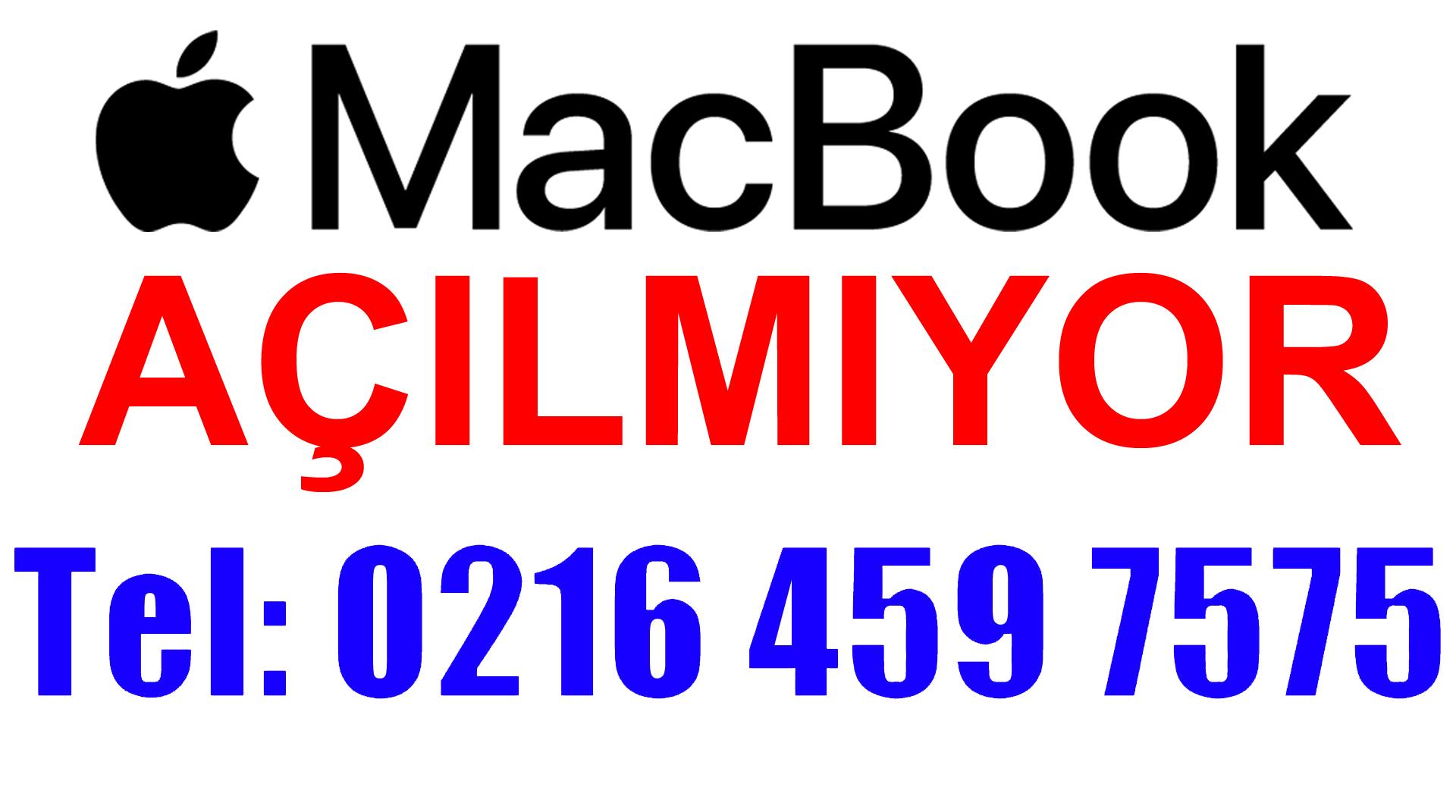 Apple Macbook Açılmıyor