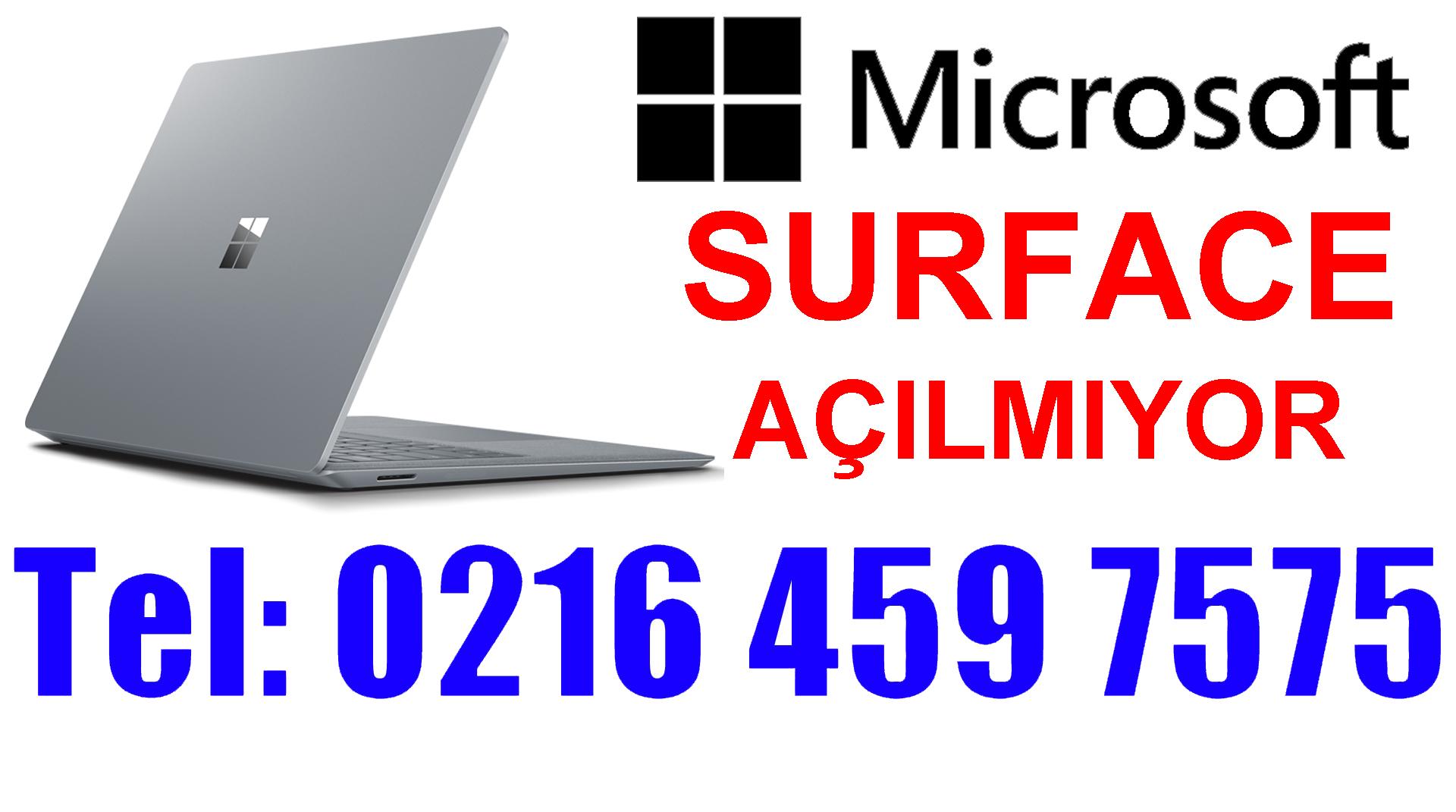 Microsoft Surface Açılmıyor