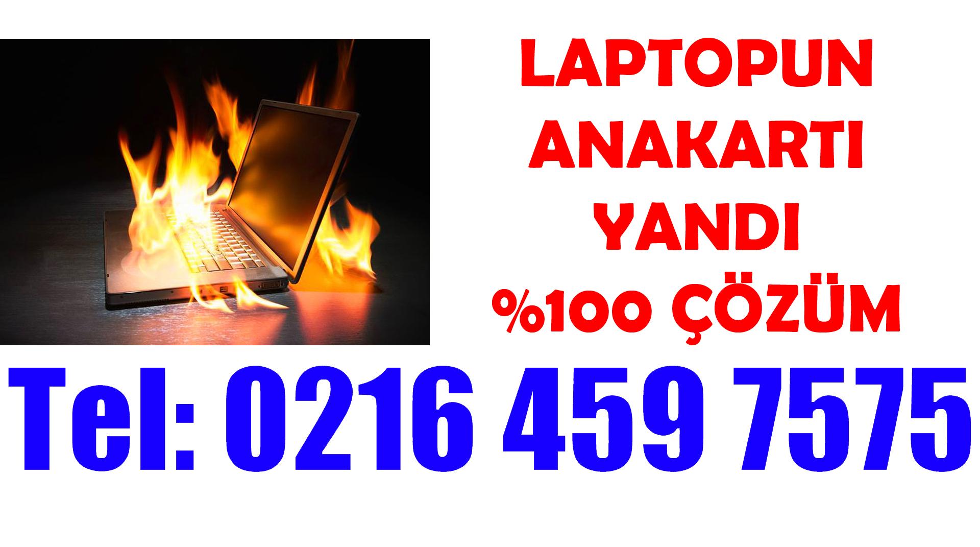 Laptop Anakart Yandı