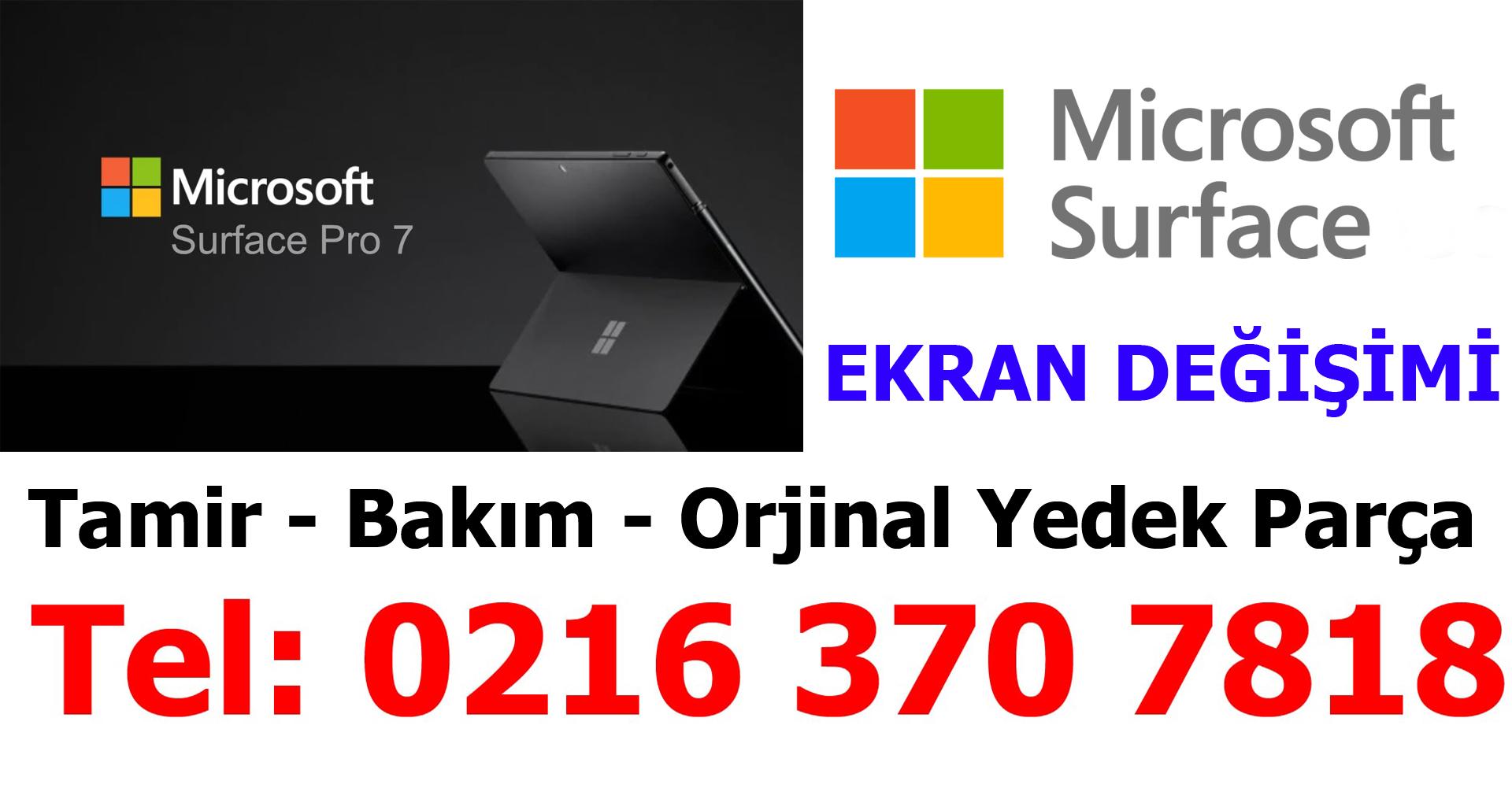 Microsoft Surface Ekran Değişimi