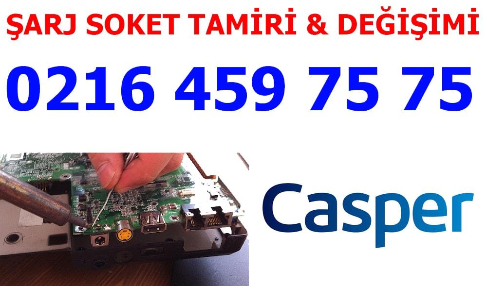 Casper Laptop Şarj Soketi Tamiri ve Değişimi