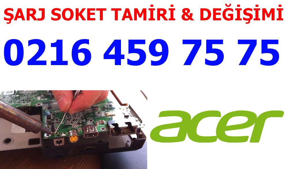 Acer Laptop Şarj Soketi Tamiri ve Değişimi