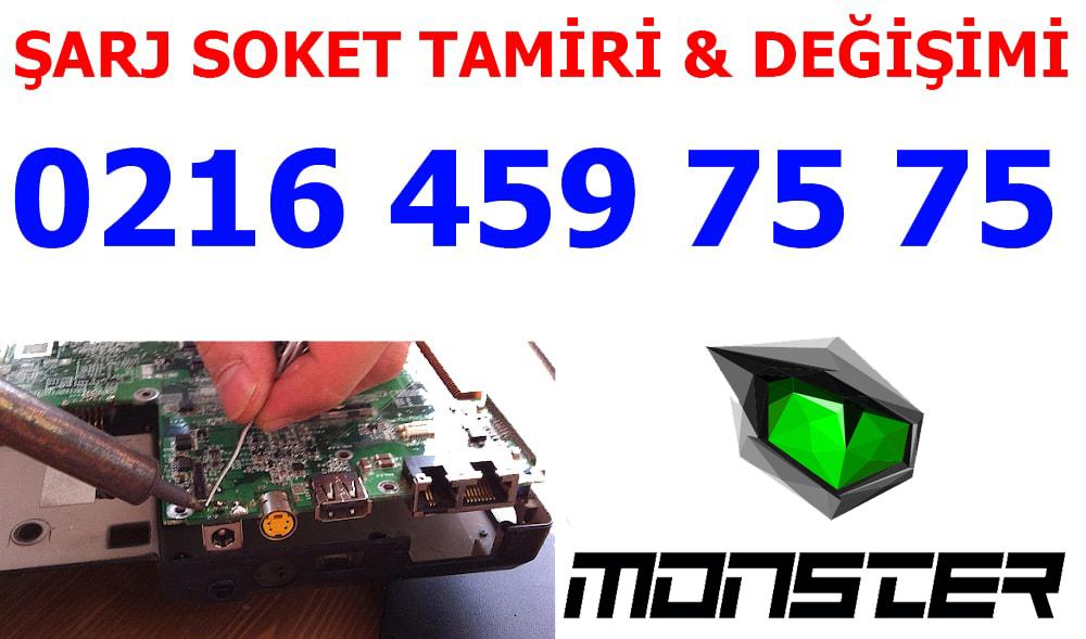 Monster Laptop Şarj Soket Tamiri ve Değişimi