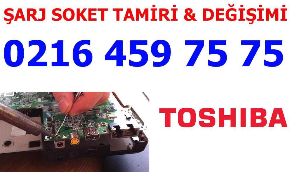 Toshiba Laptop Şarj Soketi Tamiri ve Değişimi